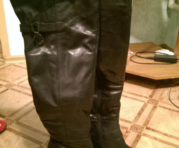 Кожаные сапоги. Фото 3. Шахты.