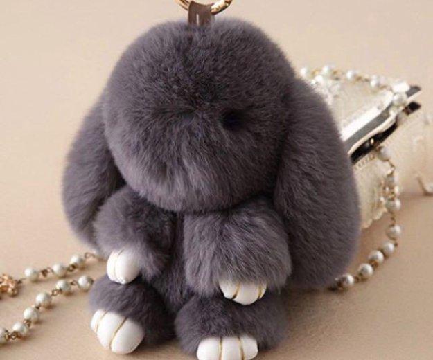 Брелок кролик из натурального меха. Фото 1. Краснодар.