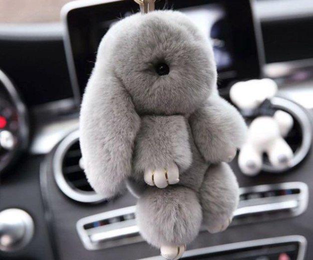 Брелок кролик из натурального меха. Фото 4. Краснодар.