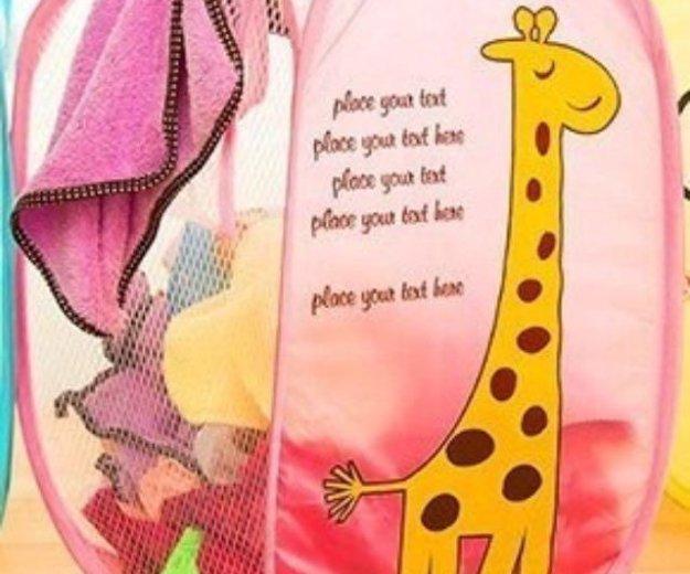 Корзина для игрушек и детского белья. Фото 1. Самара.