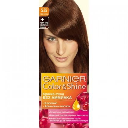 Краска для волос garnier color&shine 5.35 (2 шт.). Фото 1. Воткинск.