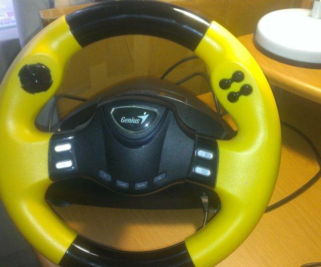 Игровой руль для компьютера speedwheel rv series. Фото 1. Москва.