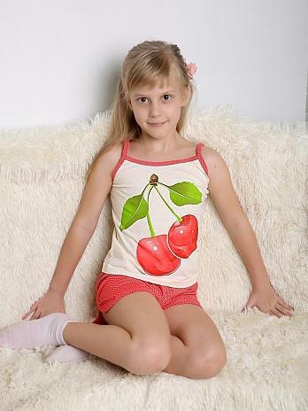 Пижамки на девочек - новые! р.122и 140. Фото 2. Видное.