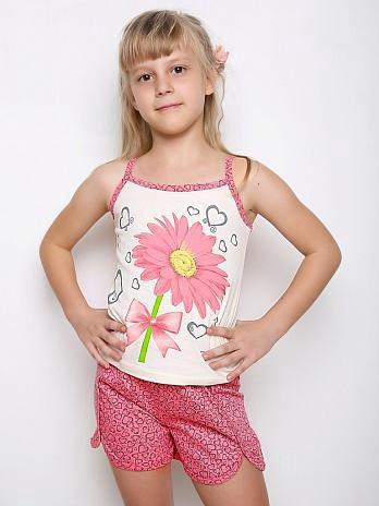 Пижамки на девочек - новые! р.122и 140. Фото 1. Видное.