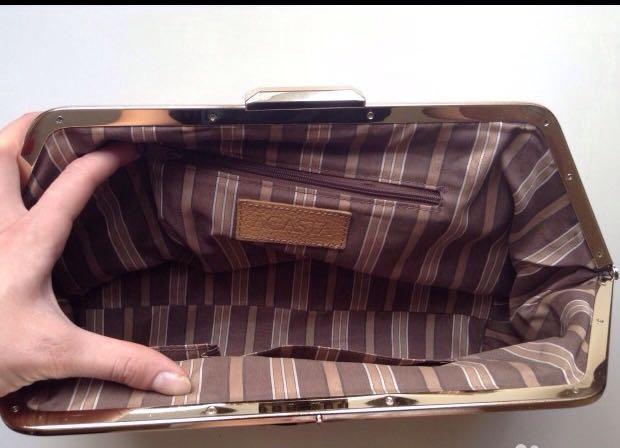 Новая кожаная сумка/клатч acasta. Фото 3. Москва.