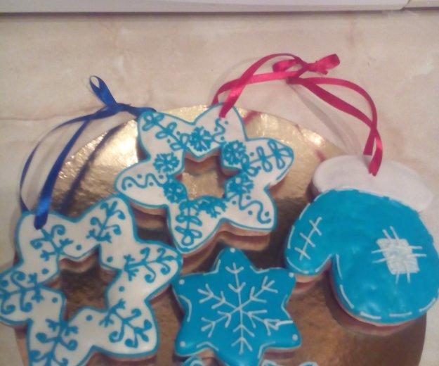 Новогодние печеньки. Фото 1. Рязань.