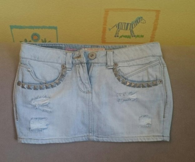 Юбка джинсовая. Фото 1. Люберцы.