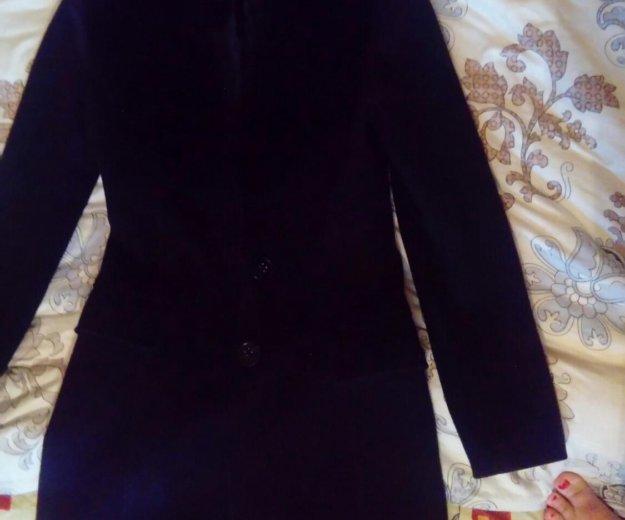 Пальто с мехом. Фото 3. Москва.
