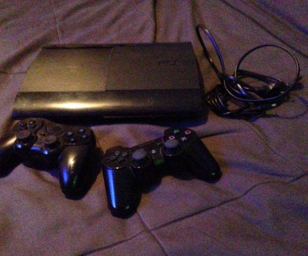 Sony playstation 3 slim 250gb. Фото 1. Щёлково.
