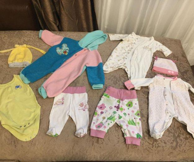 Вещи для новорождённой. Фото 2. Москва.