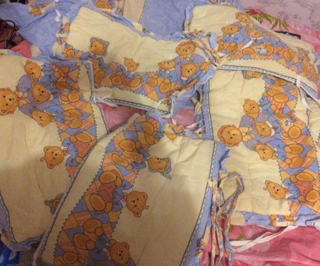 Детское белье в кроватку с бамперами. Фото 3. Москва.