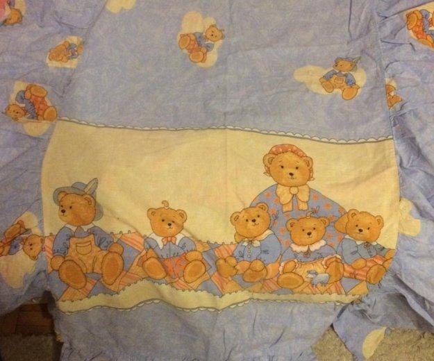 Детское белье в кроватку с бамперами. Фото 1. Москва.