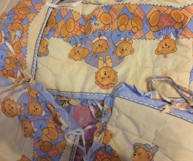Детское белье в кроватку с бамперами. Фото 2. Москва.