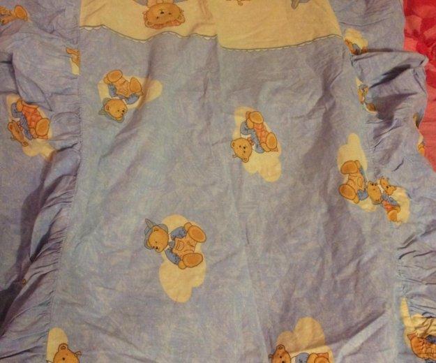Детское белье в кроватку с бамперами. Фото 4. Москва.