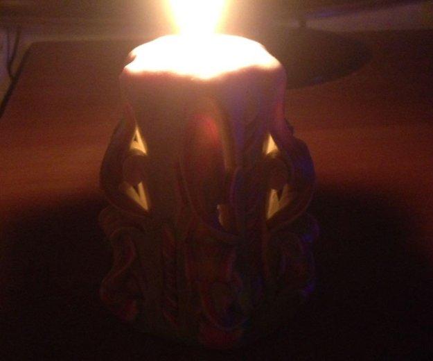 Резные свечи. Фото 4. Гурьевск.