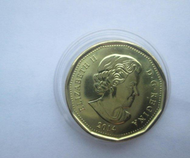 1 доллар канада оригинал. Фото 2.