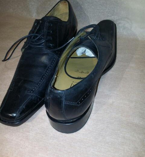 Туфли итальянские borelli. Фото 1. Владивосток.