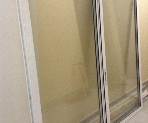 Балконные рамы размер 3.50*1.65. Фото 1. Железнодорожный.