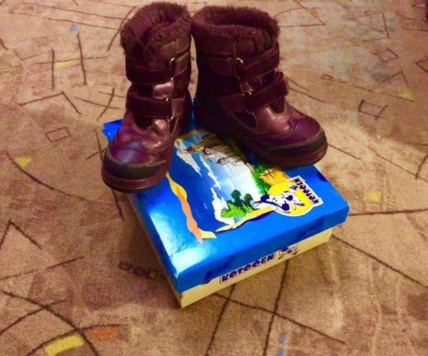 Зимние ботинки котофей. Фото 2. Калуга.