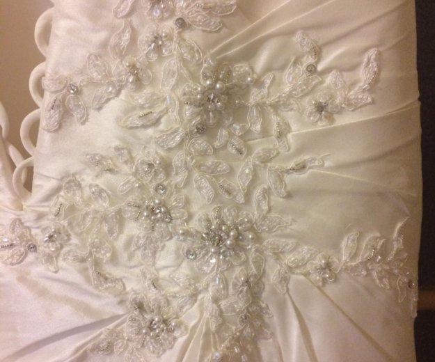 Свадебное платье diane legrand. Фото 4. Санкт-Петербург.