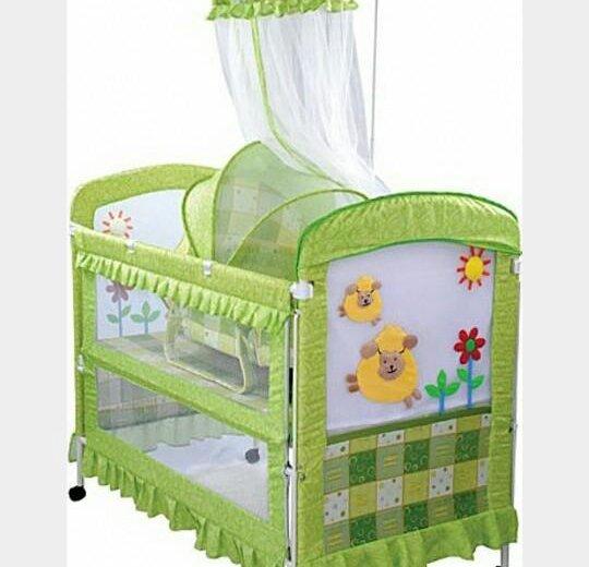 Продам кровать-манеж. Фото 1. Зеленоград.