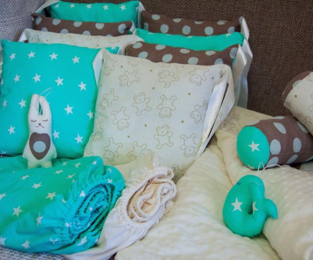 Постельное белье для малышей. Фото 1. Краснодар.