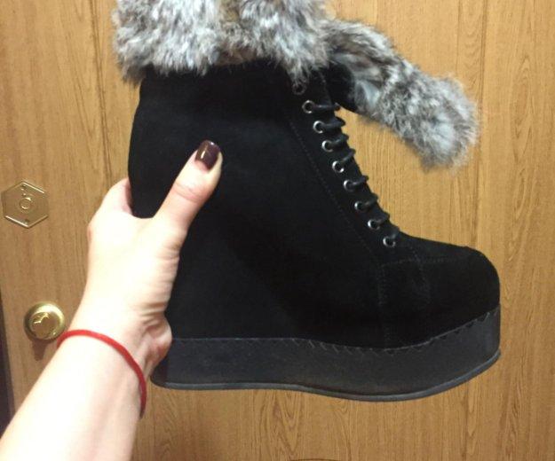 Ботинки зимние. Фото 1. Химки.
