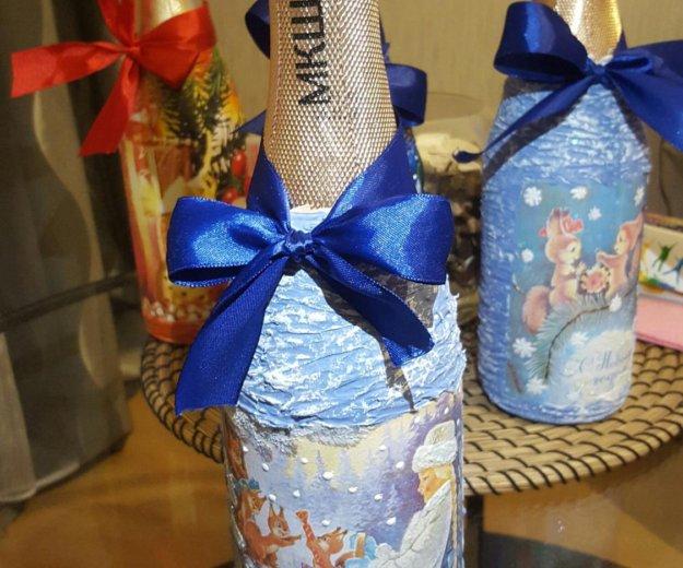 Декор бутылок. Фото 1.