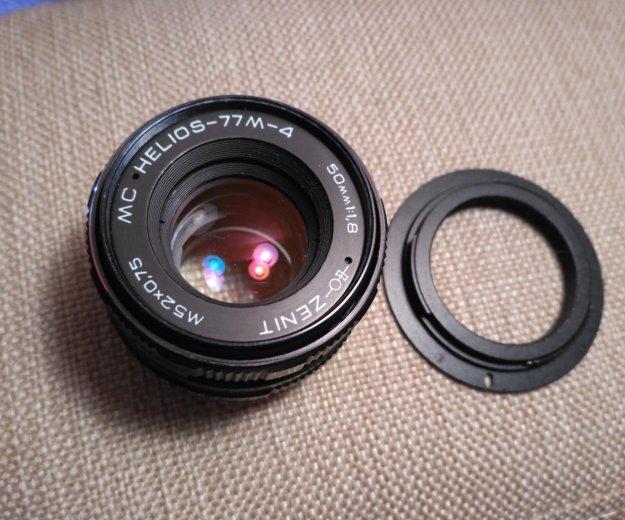 600d+steadycam+гелиос77-1.8. Фото 3. Москва.