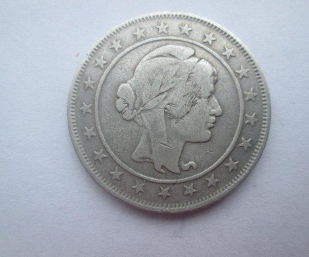 2000 рейс 1924г бразилия серебро. Фото 2.