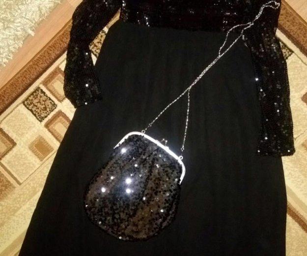 Платье в пол 50-52 размер. Фото 3. Тельмана.