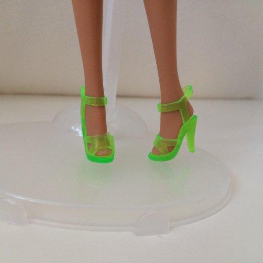 Гелевые туфли barbie. Фото 1. Москва.