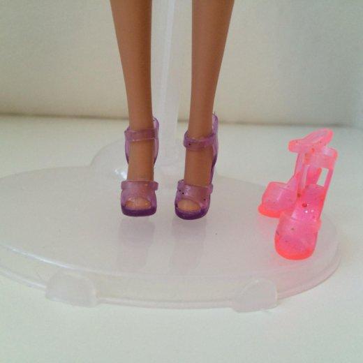 Гелевые туфли barbie. Фото 3. Москва.