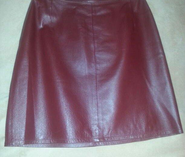 Кожанная юбка. Фото 1. Ульяновск.