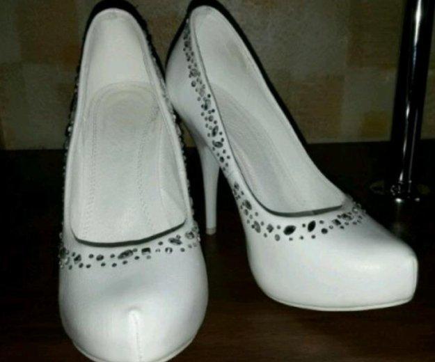 Свадебные  туфли. Фото 1. Кубинка.