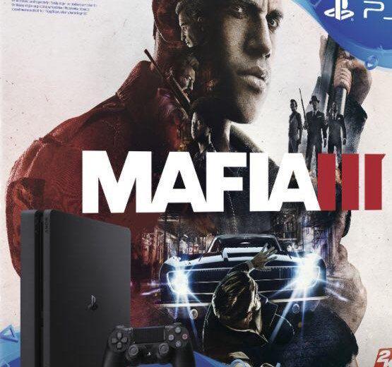 Playstation 4 slim+mafia 3. Фото 1. Санкт-Петербург.