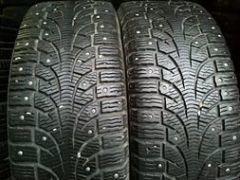 Зимние шины пирели на штампованых дисках. Фото 1. Санкт-Петербург.