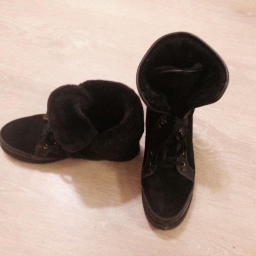 Зимние ботинки черный р38. Фото 4. Москва.