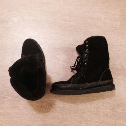 Зимние ботинки черный р38. Фото 2. Москва.