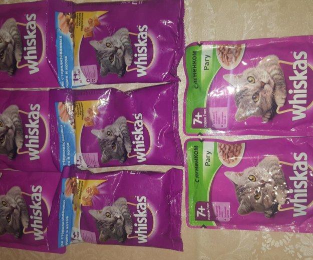 Вискас 8 пакетиков корма. Фото 1. Мурино.