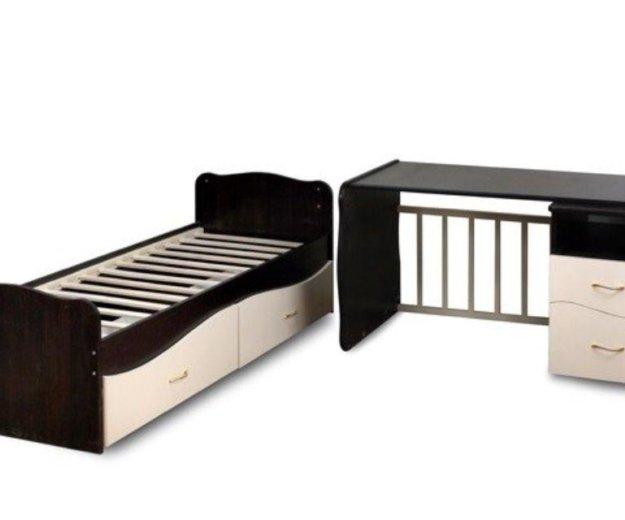 Кроватка трансформер + матрац+ пеленальный столик. Фото 2. Домодедово.
