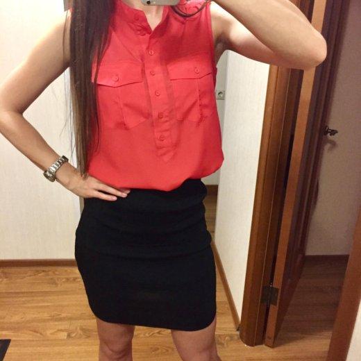 Комплект рубашка + юбка карандаш. Фото 1. Одинцово.