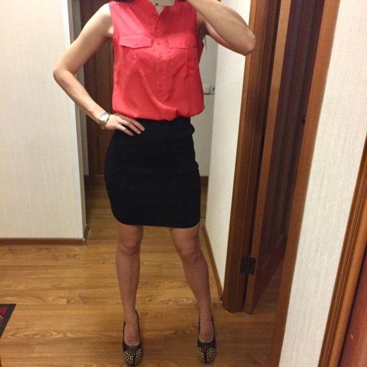 Комплект рубашка + юбка карандаш. Фото 3. Одинцово.