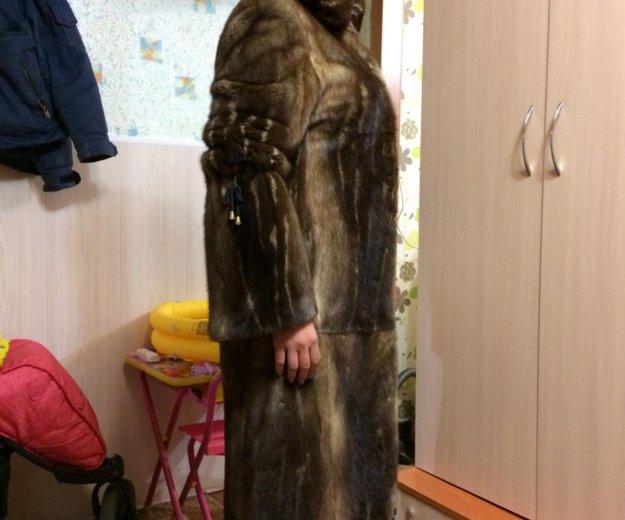 Шуба норковая. Фото 1. Комсомольск-на-Амуре.
