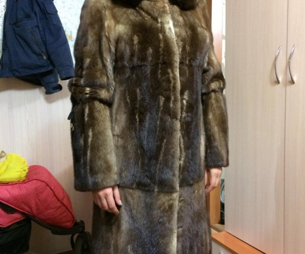 Шуба норковая. Фото 3. Комсомольск-на-Амуре.