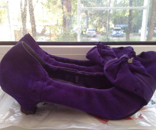 Туфли замша 38 размер. Фото 1. Москва.