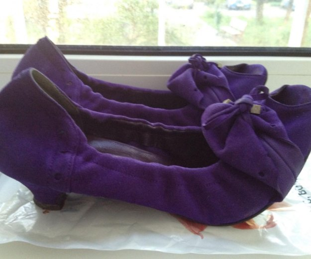 Туфли замша 38 размер. Фото 3. Москва.