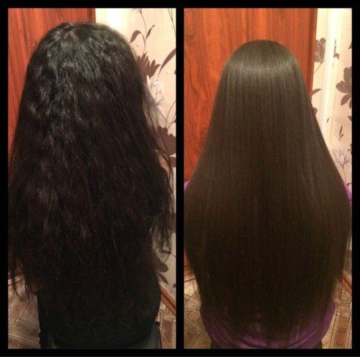 Кератиновое выпрямление волос. Фото 4. Ноябрьск.
