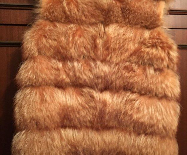 Жилетка из енота. Фото 2. Москва.