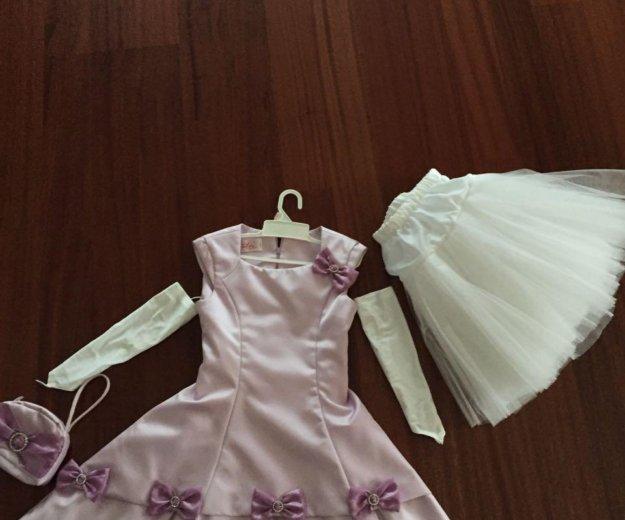 Платье на девочку 6-7. Фото 1. Москва.